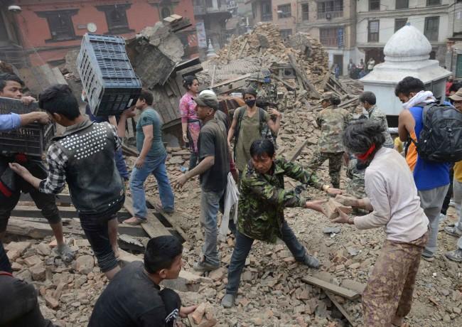 Le Crowdfunding change le monde : Tremblement de terre au Népal